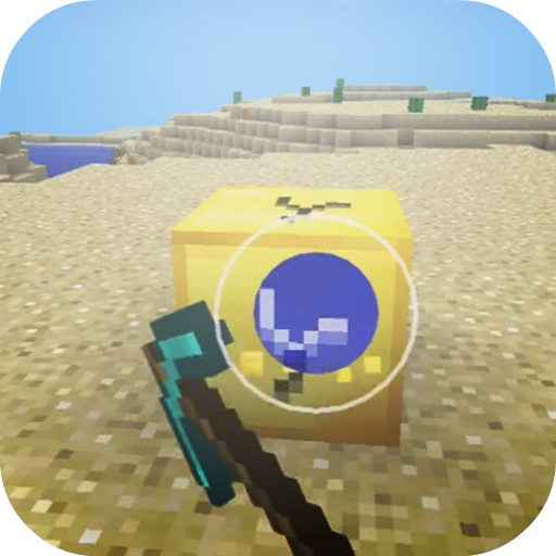 LuckyGoldBlocks Addon For MCPE