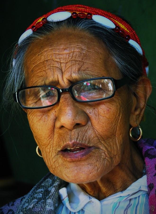 lines of the time by Greg Crisostomo - People Portraits of Women ( bontoc, wrinkles, woman, kalinga, portrait,  )
