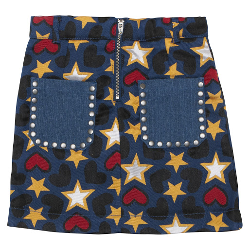 Thumbnail images of Stella McCartney Stars & Hearts Skirt
