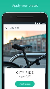 Saddle Adjust by BikeComputer Screenshot