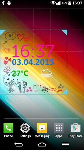玩個人化App|愛 天气 時鐘 小工具免費|APP試玩