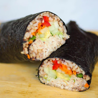 California Roll Sushi Burrito Recipe