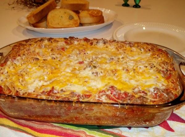 Spaghetti Bake - Cassie's Recipe