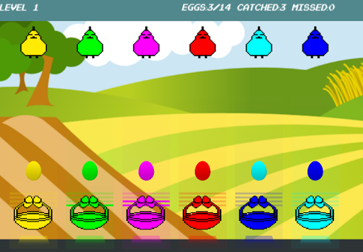 Angry Chicken Drop Eggs FREE