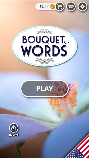 Bouquet of Words - Word game Android App Screenshot
