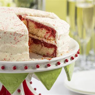 Patti LaBelle's Red Velvet Marble Cake with Boiled Frosting.