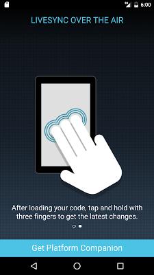 Cordova Developer App - screenshot