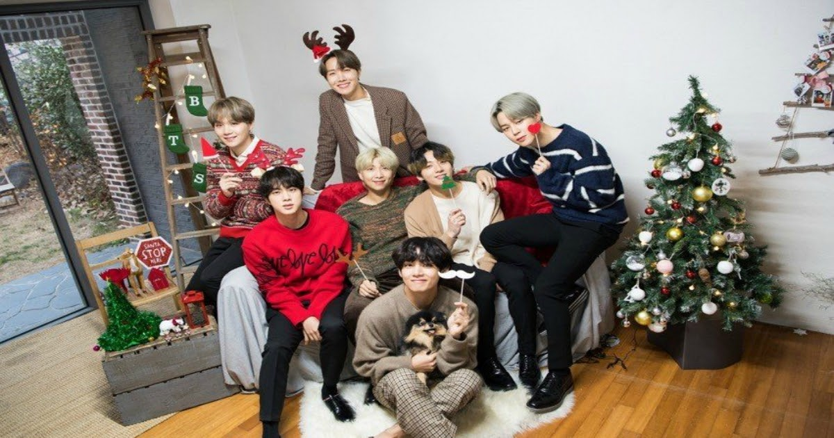 Bts Christmas 2020 BTS Surprises Fans With A Holiday Q&A To End The Year   Koreaboo