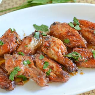 Honey Soy Chicken Wings.
