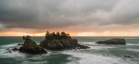 Photo: The Oregon Coast along the Samuel H Boardman Scenic Corridor.  Prints available athttp://bit.ly/1TzuNRB  #landscapephotography  #panorama  #oregoncoast  #pacificnorthwest  #oregon