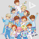 Seventeen Wallpaper HD icon