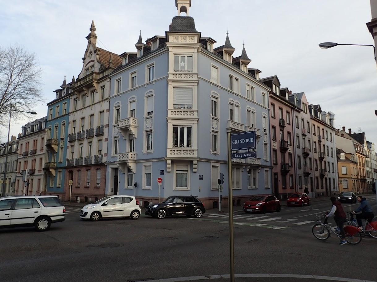 architecture caractéristique de la ville