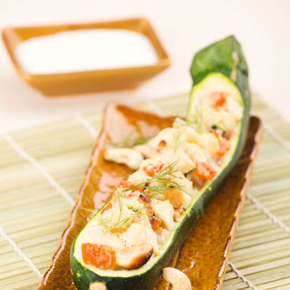 Zucchini with Dried Fruits and Nuts.