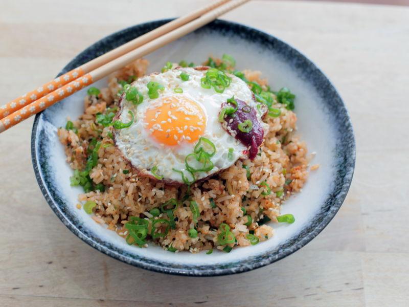 4. ข้าวผัดเกาหลี