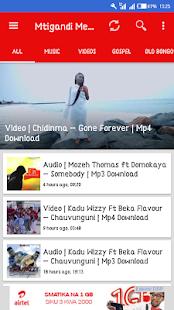Mtigandi Media App - náhled
