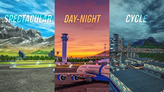 Flight Sim 2018 MOD APK | Flight Sim Unlimited Money APK 5