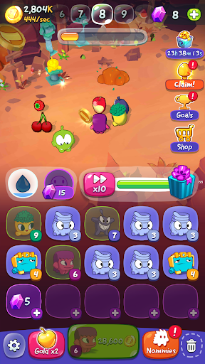 Om Nom: Merge android2mod screenshots 6