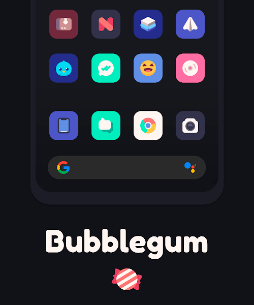 Bubblegum Icon Pack v1.4 [Patched]