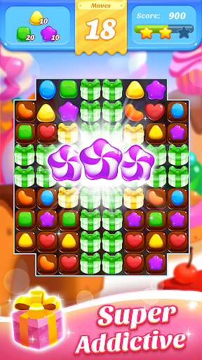 Sweet Mania Crush - Free 3 Match 100 screenshots 4
