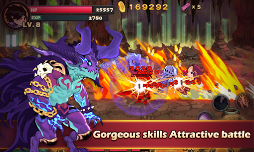 Brave Fighter MOD: Demon Revenge (Free Purchases) 3