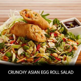 Crunchy Asian Egg Roll Salad.