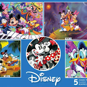 Disney 5-in-1 Puzzle Pack