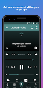 VLC Mobile Remote – Control VLC, PC & Mac Mod 2.5.7 Apk [Unlocked] 1
