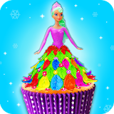 Edible Doll Cupcake Maker! Bake Cupcakes with Chef