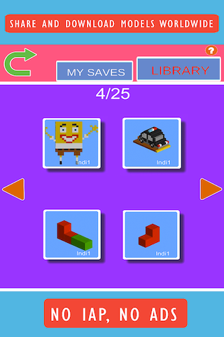 Blox 3D Junior- screenshot