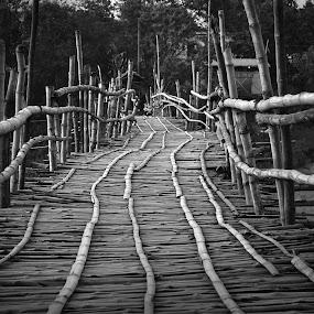 Bridge on Kansabati river by Kunal Karmakar - Buildings & Architecture Bridges & Suspended Structures ( pwcbridges )