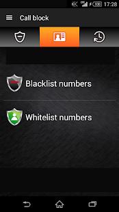 Call block - screenshot thumbnail