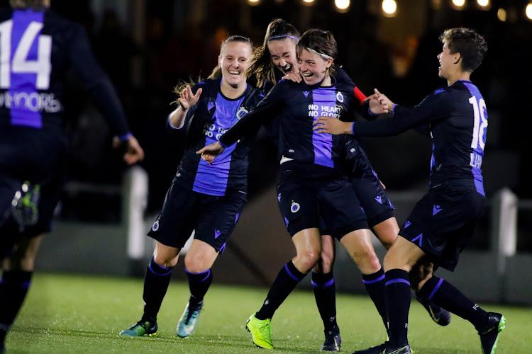 Club Brugge boekt stuntzege tegen KAA Gent Ladies