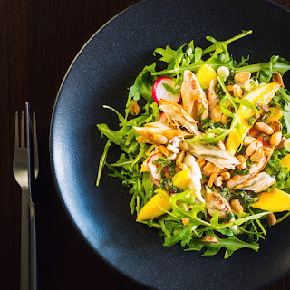 Smoked Mackerel Salad with Mango Recipe