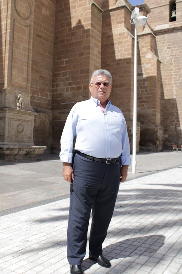 El destacado cofrade almeriense José Luis Cantón.