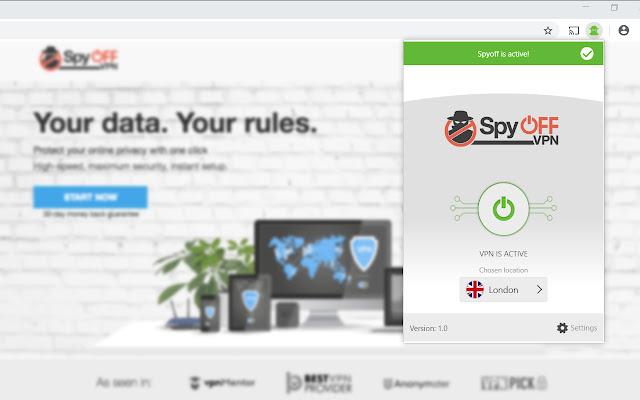 SpyOFF VPN Remote Control