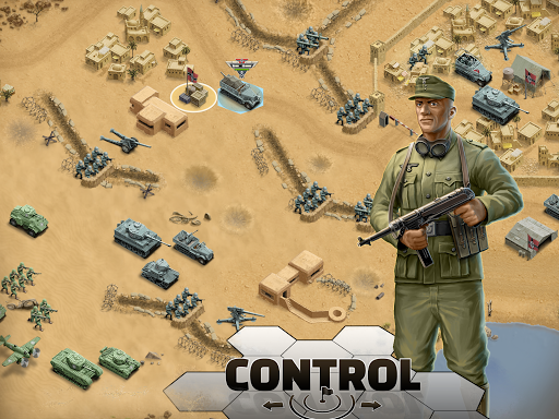 1943 Deadly Desert - a WW2 Strategy War Game 1.3.0 12
