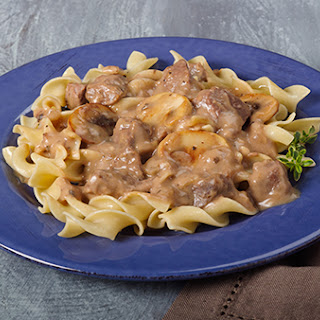 Easy Crock-Pot® Beef Stroganoff.
