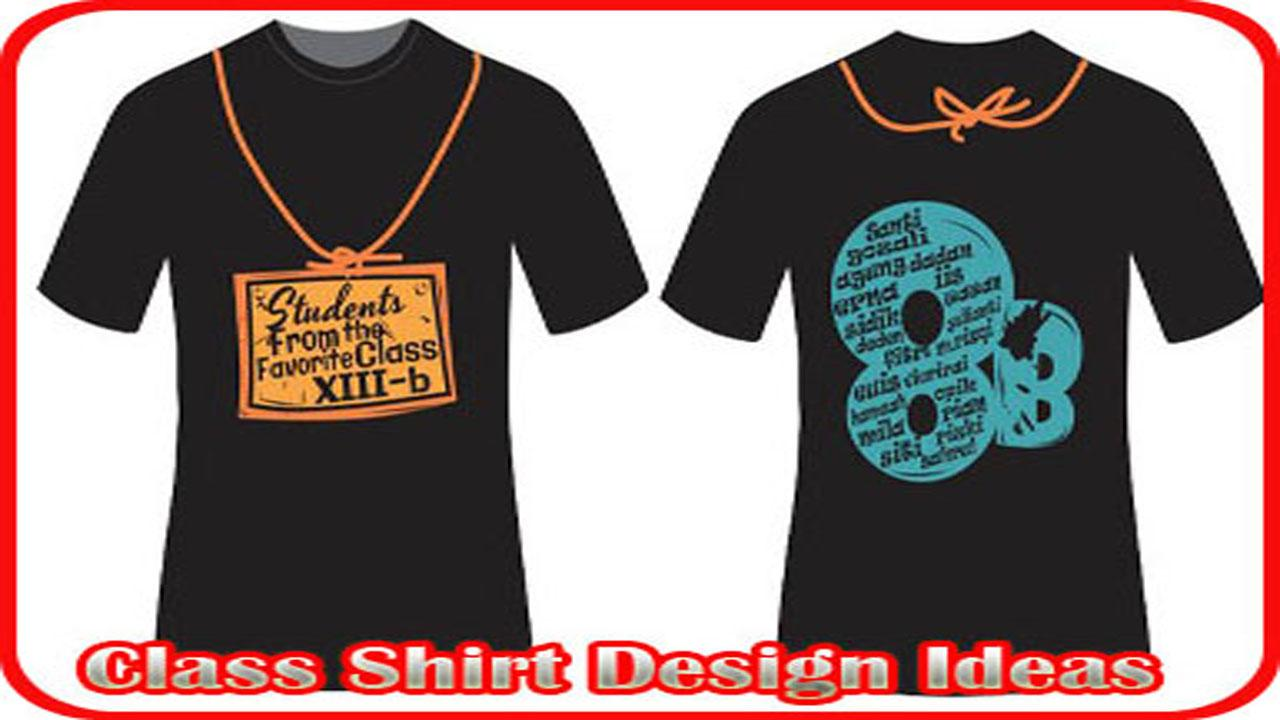class shirt design ideas screenshot - Shirt Design Ideas