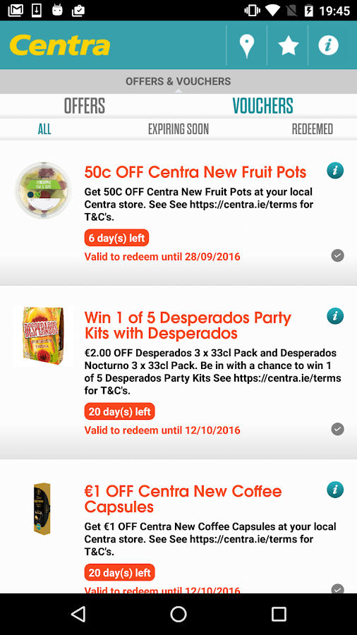 Centra - Offers & Vouchers- screenshot