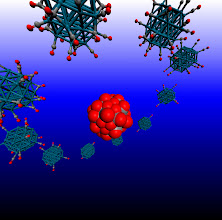 Photo: 12. The image depicts a Pd38 cubooctahedral nanclusters at various degrees of adsorbate saturation.  Dr Constantinos Zeinalipour-Yazdi, University College London Department of Chemistry.  The study of dynamic processes in catalysis and materials chemistry using accurate quantum mechanical calculations is a computationally demanding process. The high performance computing resources offered by ARCHER through the Materials Chemistry Consortium are pivotal for the performance of such calculations. In this study we explore through hybrid-DFT molecular dynamics simulations the spatial and time evolution of adsorbates on the surface of nanoclusters. This research has resulted in fascinating simulations with respect to the dynamic motion of adsorbates on the surface of nanoparticles at high coverages.