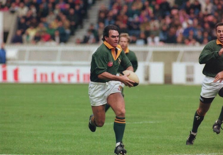 South African rugby legend Danie Gerber is self-quarantined at home