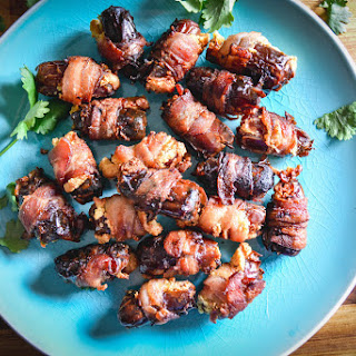Bacon Wrapped Dates.