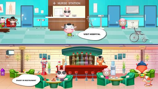 Pretend Play Pets World : Meet town life  screenshots 9