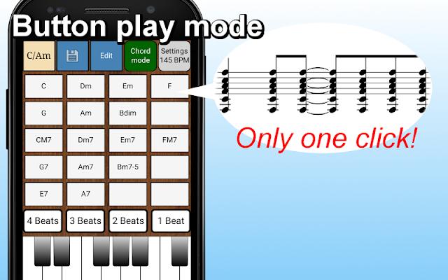 Guitar Chords Sequencer - screenshot