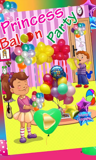 Princess Baloon birthday party