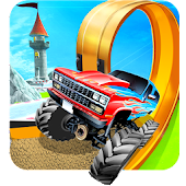 Monster truck Impossible stunt Legend