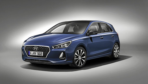 The Hyundai i30.   Picture: NEWSPRESS