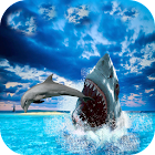 Hungry Shark Attack Blue Whale Evolution Simulator icon