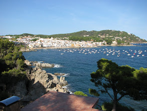 Photo: A small fishing village where we stayed on the Costa Brava.