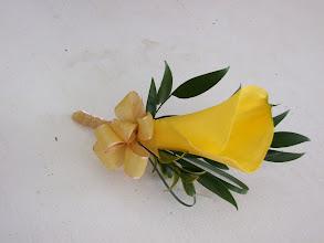 Photo: [B60]Mini calla lily bouttonniere